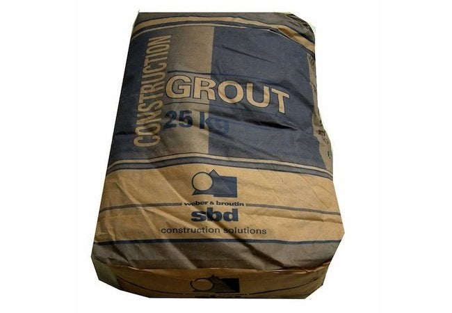 How to Grout Tile - Bag