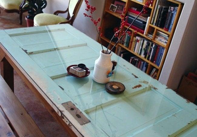 DIY Kitchen Island - Door Top Table
