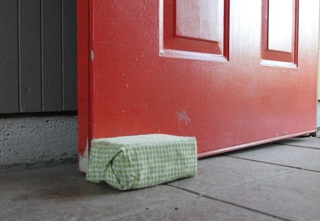 Uses for Bricks - Doorstop