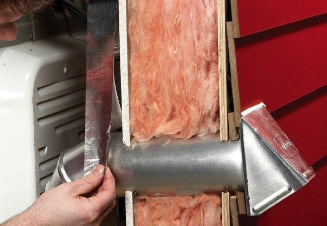 How To Install A Dryer Vent Bob Vila