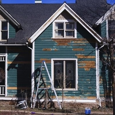 Exterior painting preparation bob vila - Painting preparation exterior photos ...