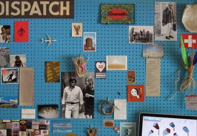 DIY Pegboard Projects - Gallery Wall