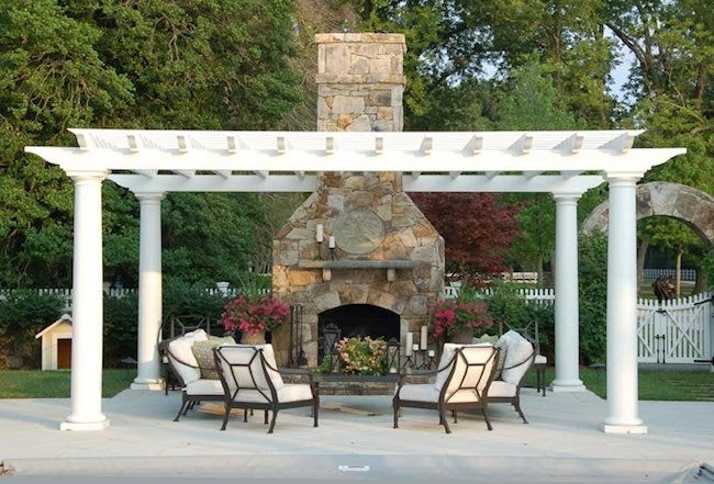 Installing an Outdoor Fireplace