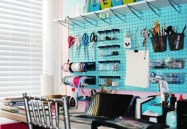 DIY Pegboard Projects - Office