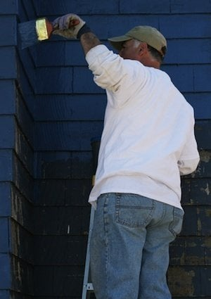 Oil vs. Latex Paint - Ladder