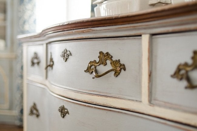 Photo: Miss Mustard Seed - How To Distress Furniture - DIY Antique Look - Bob Vila