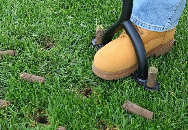 Spring Lawn Care - Aeration