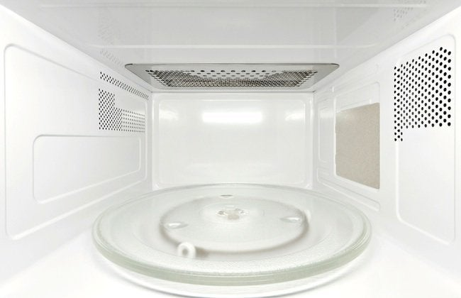 How to Clean a Microwave - Interior