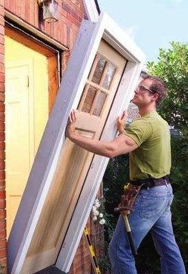 How To Install A Prehung Door Bob Vila