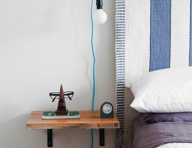 DIY Nightstand - Shelving