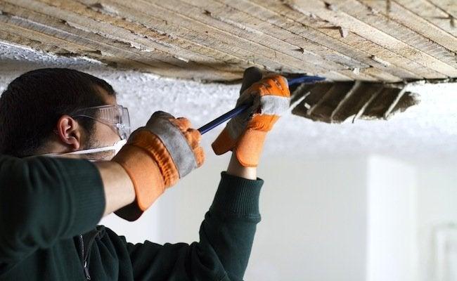 Removing Plaster