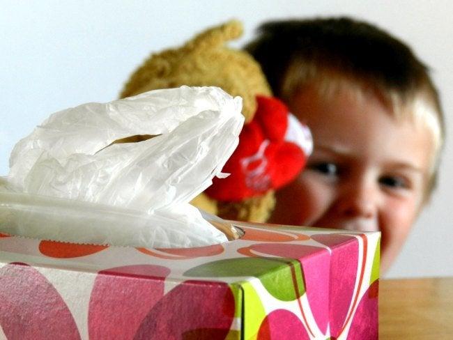 DIY Organization Ideas - Tissue Box Plastic Bag Dispenser