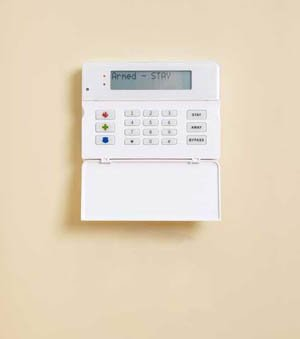 AT&T Digital Life - Wall-mounted keypad