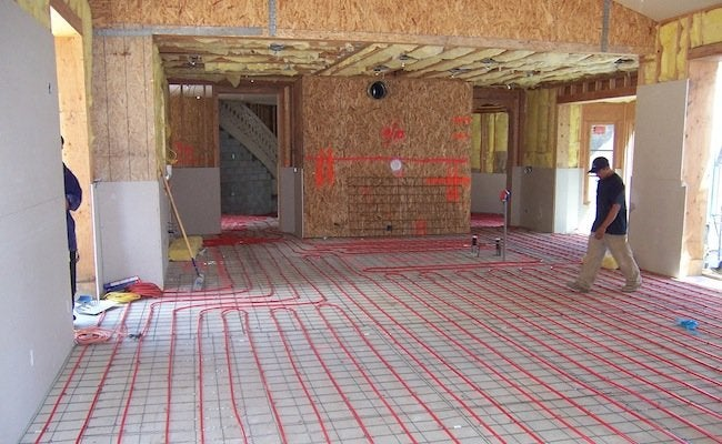 Radiant Heat Flooring - Bob Vila