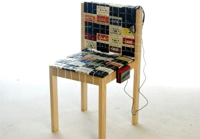 Cassette Tape Recycling - Chair