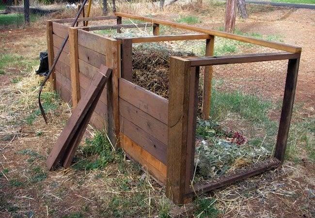 DIY Compost Bin - Chicken Wire