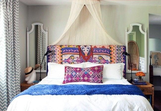 DIY Canopy Bed - Hoop