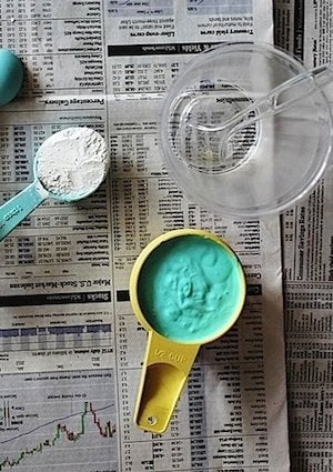 How to Make Chalk Paint - Mix
