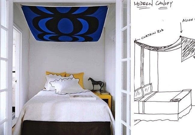 DIY Canopy Bed - Modern