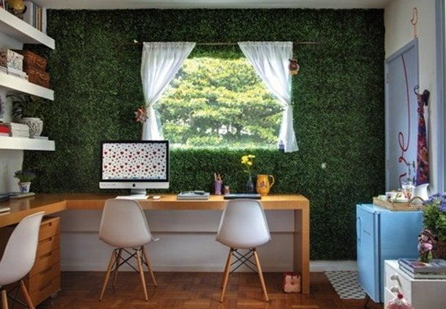 Artificial Turf DIY - Wall