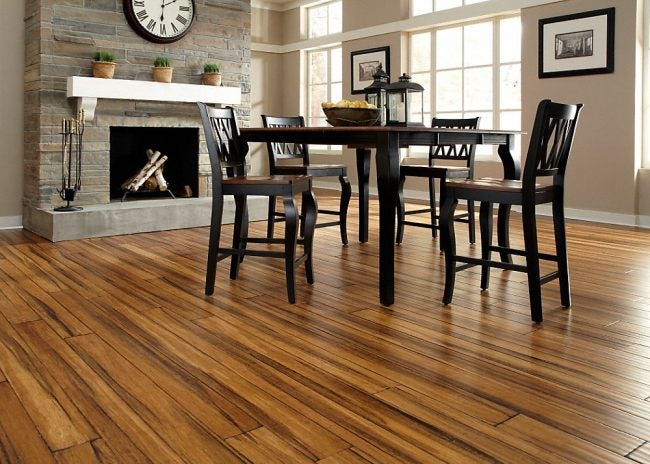 Antique Strand Bamboo Flooring from Lumber Liquidators