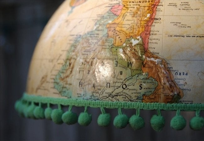 DIY Pendant Light - Globe