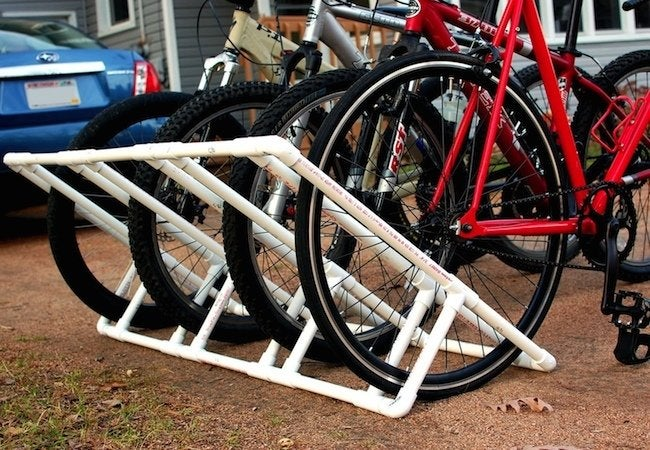 DIY Bike Rack - PVC