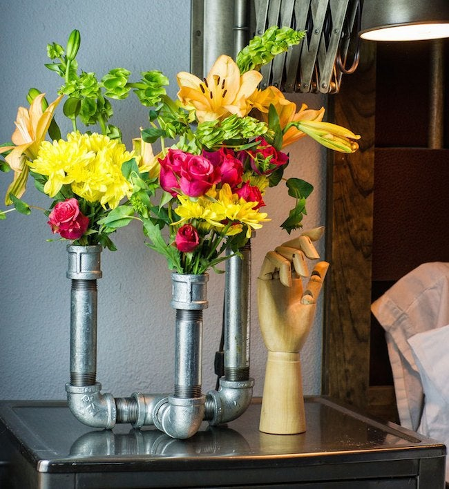 DIY Pipe Vase