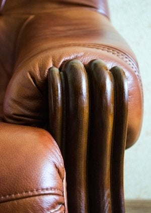 How to Clean Leather Furniture - Detail