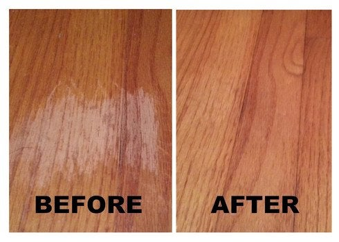 How to repair scratched hardwood floor floor matttroy for Wood floor repair