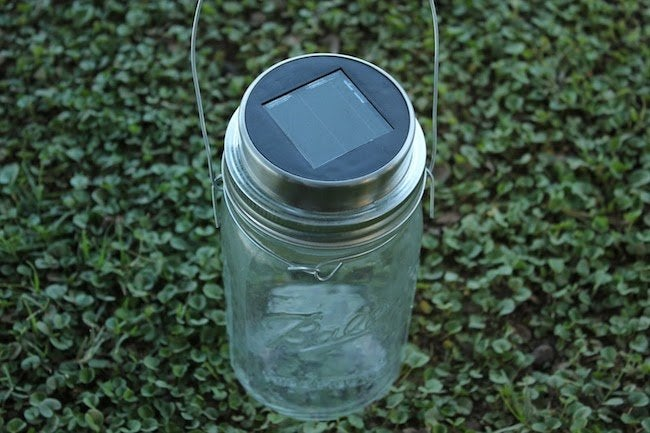 Mason Jar Solar Lamp - Lid