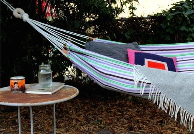 DIY Hammock - Cotton Towels