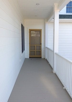 How to Install a Screen Door - Detail Door