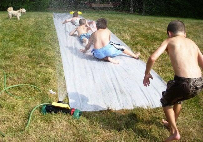 DIY Slip n Slide