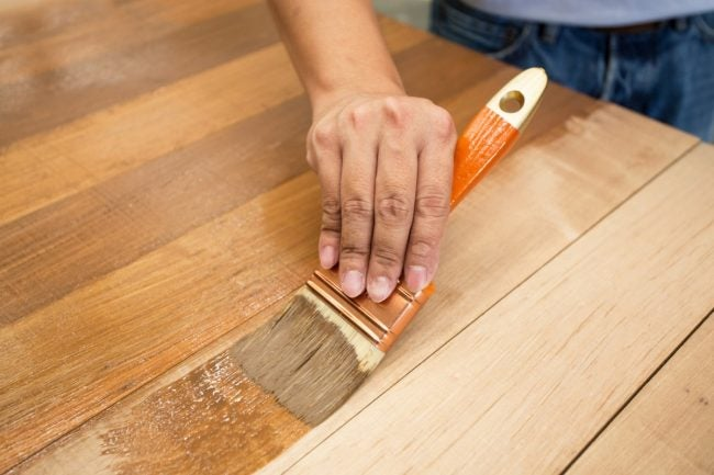 How to Use Wood Filler Before Staining