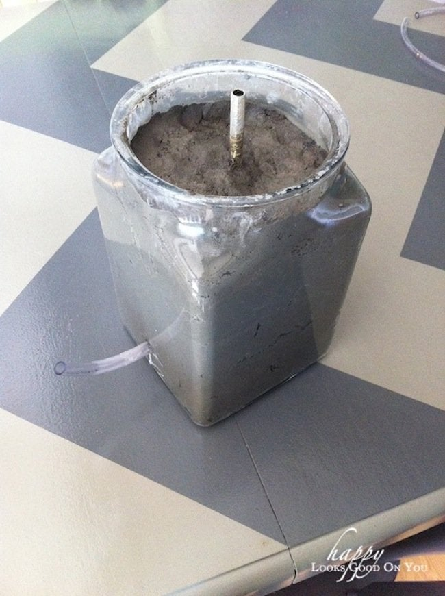 Mold for DIY Concrete lamp
