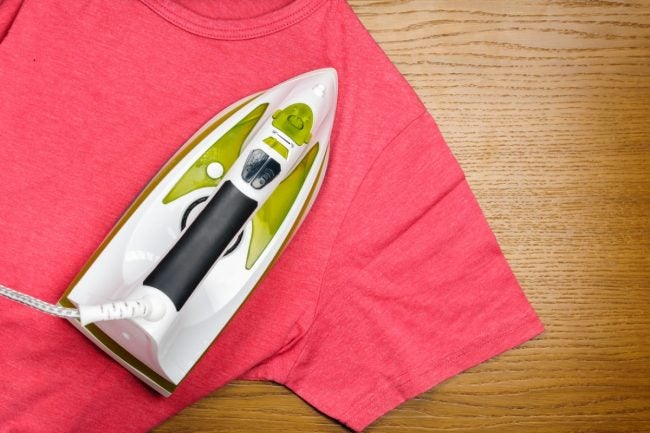 How to Remove Water Stains from Wood with a Clothes Iron