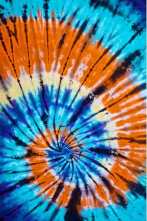 How to Tie Dye - Spiral