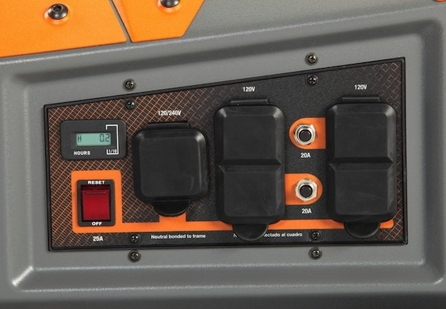 Best Generators - Control Panel