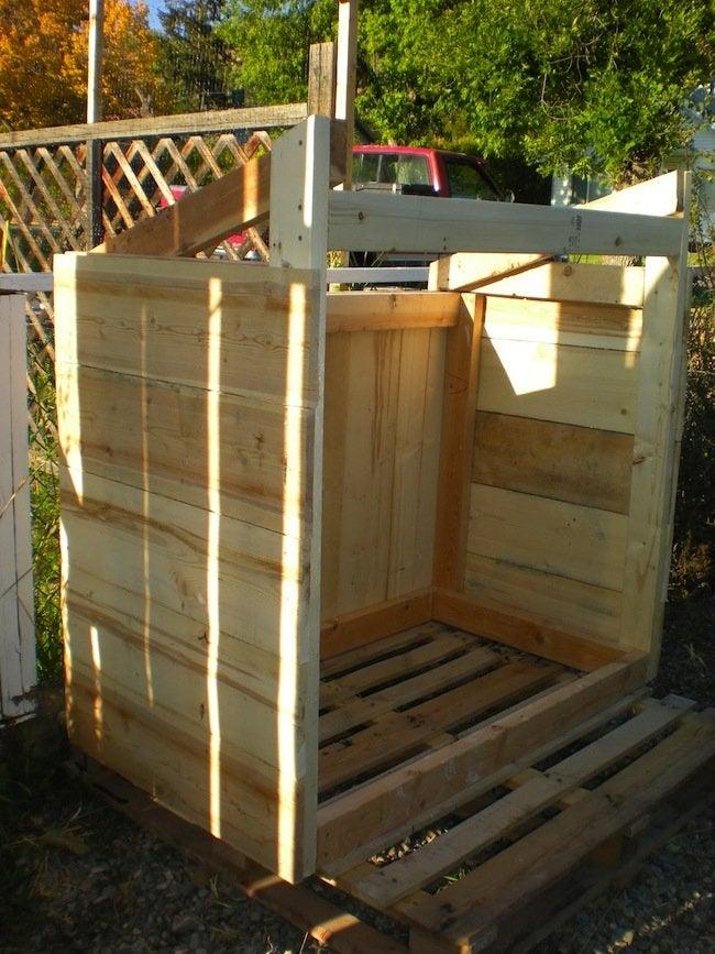 DIY Garbage Shed Build