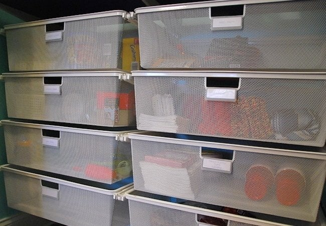 How to Organize a Pantry - Labeling