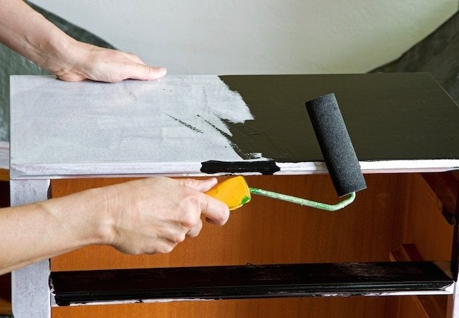How to Refinish a Dresser - Painting