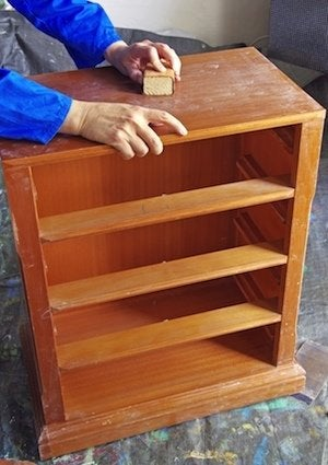How To Refinish A Dresser Sanding