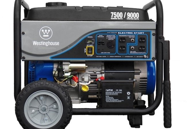 Best Generators - westinghouse wh7500