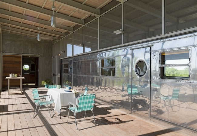 Ranch Trailer Home - Decking