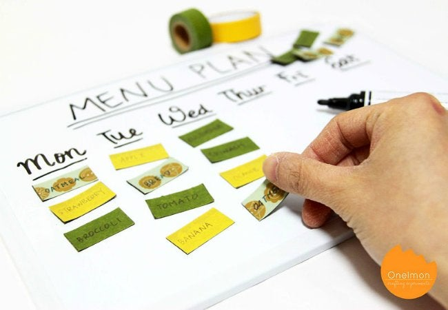 Uses of Magnets - Meal Planner
