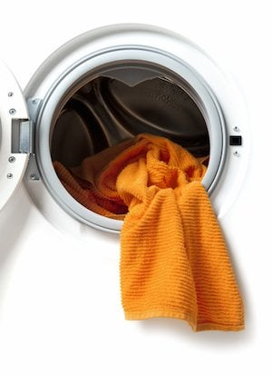 How to Clean a Washing Machine - White