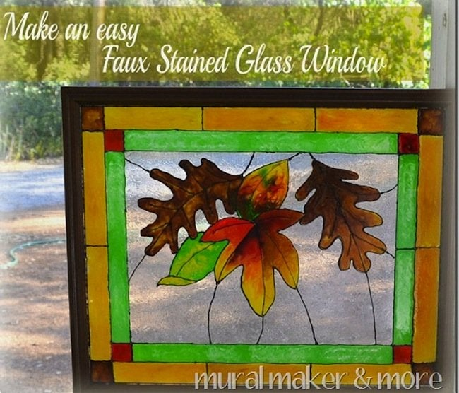 diy faux stained glass genius bob vila