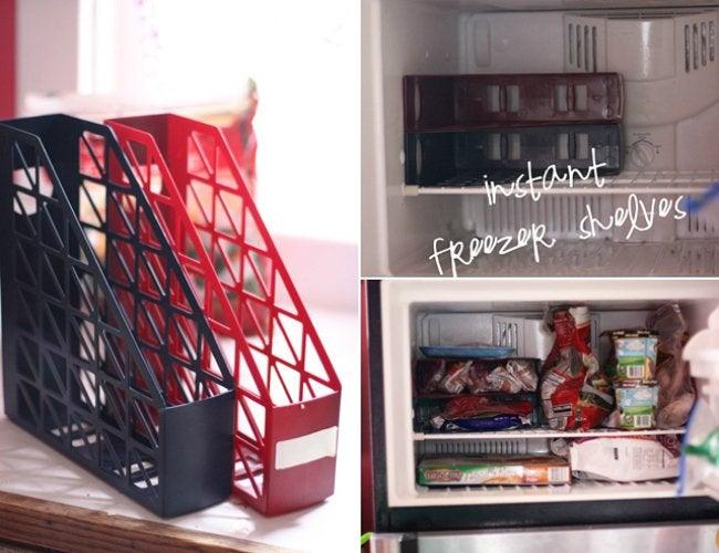 Refrigerator Organization - DIY Refrigerator Shelves