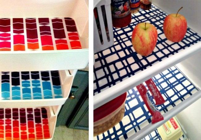 Refrigerator Organization - DIY Mats